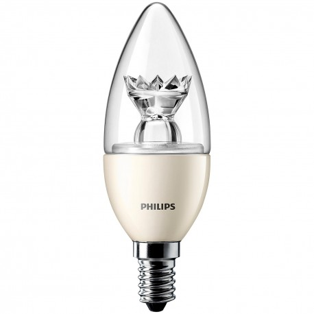 Philips DiamondSpark 4W E14 Dimmable Dim Tone LED Candle